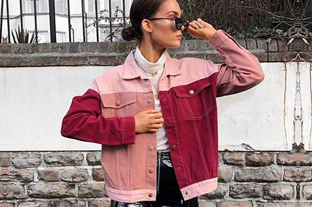 Millennial Pink + Burgundy: Match Colors!