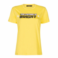 Amaro Feminino T-Shirt The Future Is Bright, Amarelo
