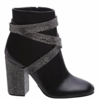 Ankle Boot Belt Shine Black | Schutz
