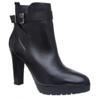Ankle Boot Couro Grunge