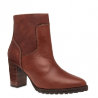 Ankle Boot Grunge Couro Marrakesh