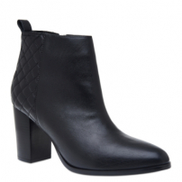 Ankle Boot Matelassê Couro