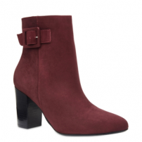 Ankle Boot Couro Nobuck