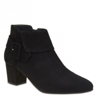 Ankle Boot Nobuck Black