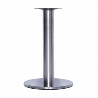 Base De Mesa Inox Redonda Big 75Cm