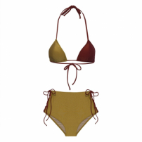 Biquini Classico Patch Woman Hk Beachwear