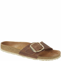 Birkenstock Madrid Big Buckle Fl Cognac Hex