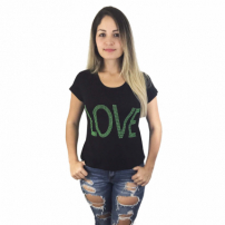 Blusa Cabide Fashion Love Verde