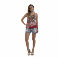 Blusa Cn Fashion Costa Nadador Estampada
