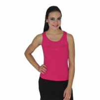 Blusa Cn Fashion Regata Com Tule Pink