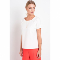 Blusa Crepe Montpellier Off White
