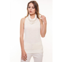 Blusa Manga Curta Beautifull Hit Frente Unica Off White