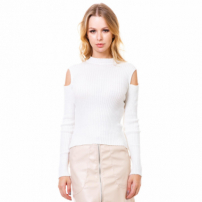 Blusa Manga Longa Beautifull Hit Off White