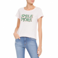 Blusa Silk Smile More Litt' - Rosa