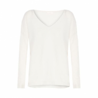 Blusa Tricot Cashmere Canal - Off White