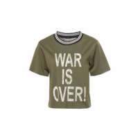 Blusa War Is Over Canal - Verde