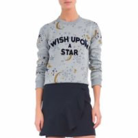 Blusa Wish Upon A Star Canal - Cinza