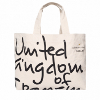 Bolsa Tote Medium United Kingdom - Off White