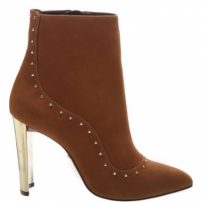 Bota Glam Metallic Heel Brown | Schutz