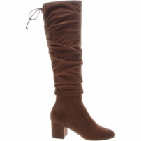 Bota Over The Knee Stretch Brown | Schutz