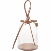 Bucket Bag Vinil Crystal Neutral | Schutz
