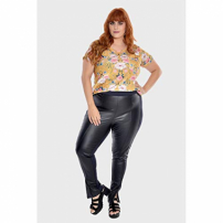 Calça Black Plus Size Preto-56/58