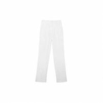 Calça Cropped Linho Savoia Richards - Off White