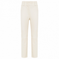 Calça Feminina Leather Cream - Off White