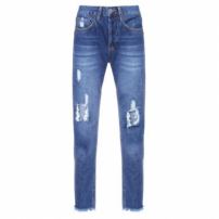 Calça High Skinny Boot Connectic John John - Azul