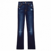 Calça Jeans Cropped Boot With Holes