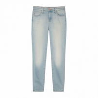 Calça Jeans Cropped Mid Rise