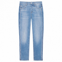 Calça Jeans Josefina With Raw Side Seam