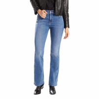 Calça Jeans Levis Feminina 315 Shaping Bootcut 4 Way Stretch Azul Média