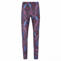 Calça Legging Basic Estampada - Rosa
