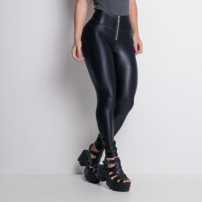 Calça Legging Labellamafia Ultra High Pants Black-Feminino