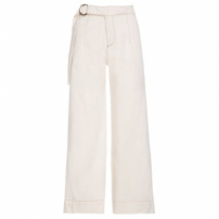 Calça Pantacourt Cinto, Shoulder. - Off White