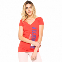 Camiseta Aleatory Jersey Coral