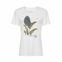 Camiseta Candy Yellow Canal - Off White