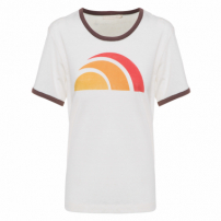 Camiseta Feminina Sol - Off White