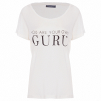 Camiseta Feminina You Are Your Own Guru - Branco