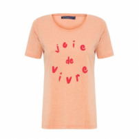 Camiseta Joie De Vivre Vi And Co - Laranja