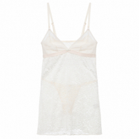 Camisola Baby Doll Bouquet - Off White