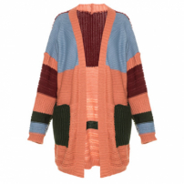 Cardigan Tricot Mathew Pink Framed