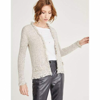 Cardigan Tricot-Off White-P