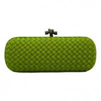 Clutch Elongated Knot Verde
