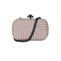 Clutch Knot Chain Bege