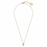 Colar Small Word C - Ouro Vintage
