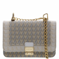 Crossbody Jacquard Triangle White | Schutz