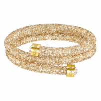 Crystaldust Bracelete Double, Golden Crystal