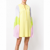 Emilio Pucci Contrast-Sleeves Dress - Amarelo